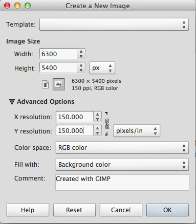 How to Create a Large-scale Image with Free Software