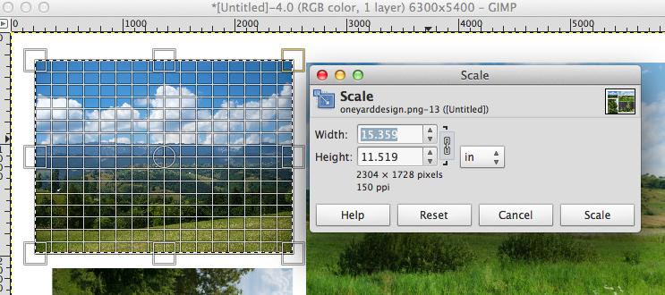 how to change a gimp image into a jpeg