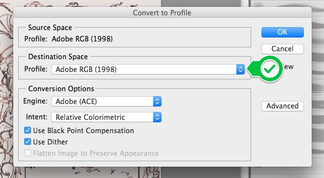 Saving Image Files as sRGB – Spoonflower Help Center